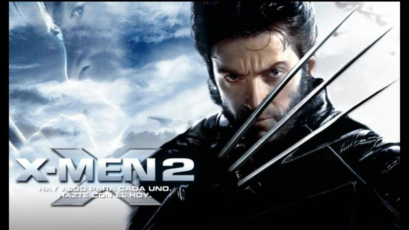 X Men 2 OST Hot Rysomoy Wolverine Adamantium Theneme