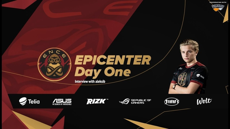 EPICENTER - Day 1 (Interview with aleksib)