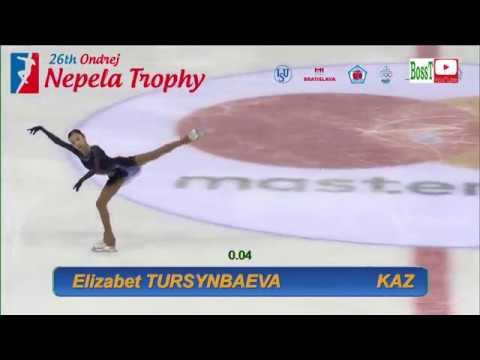 Elizabet TURSYNBAEVA | Елизавета ТУРСЫНБАЕВА - SP, Nepela Trophy 2018