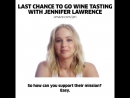 YOU could fight political corruption AND drink wine w/Jennifer Lawrence!support Represent.Us