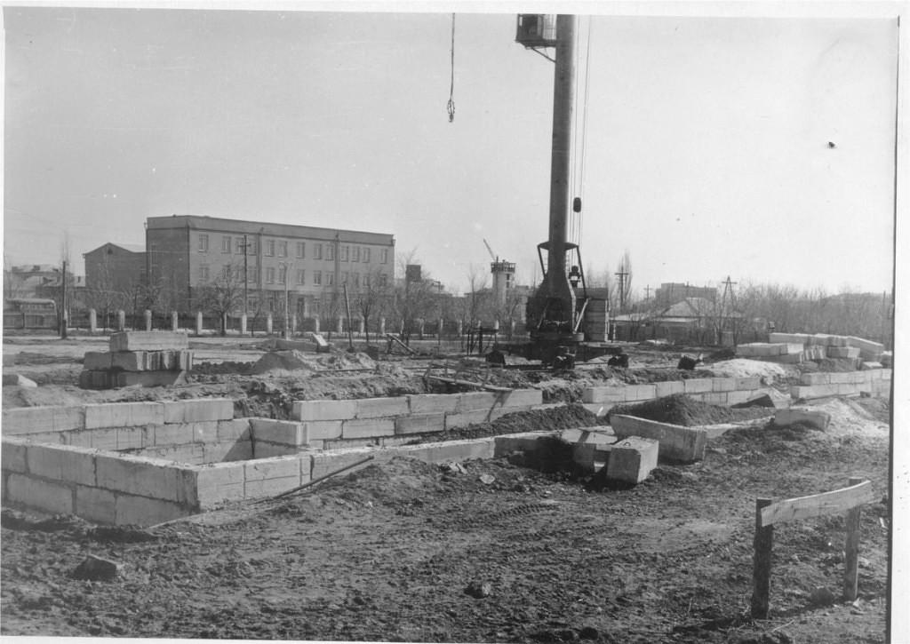 Строительство Белого дома. 1962 год