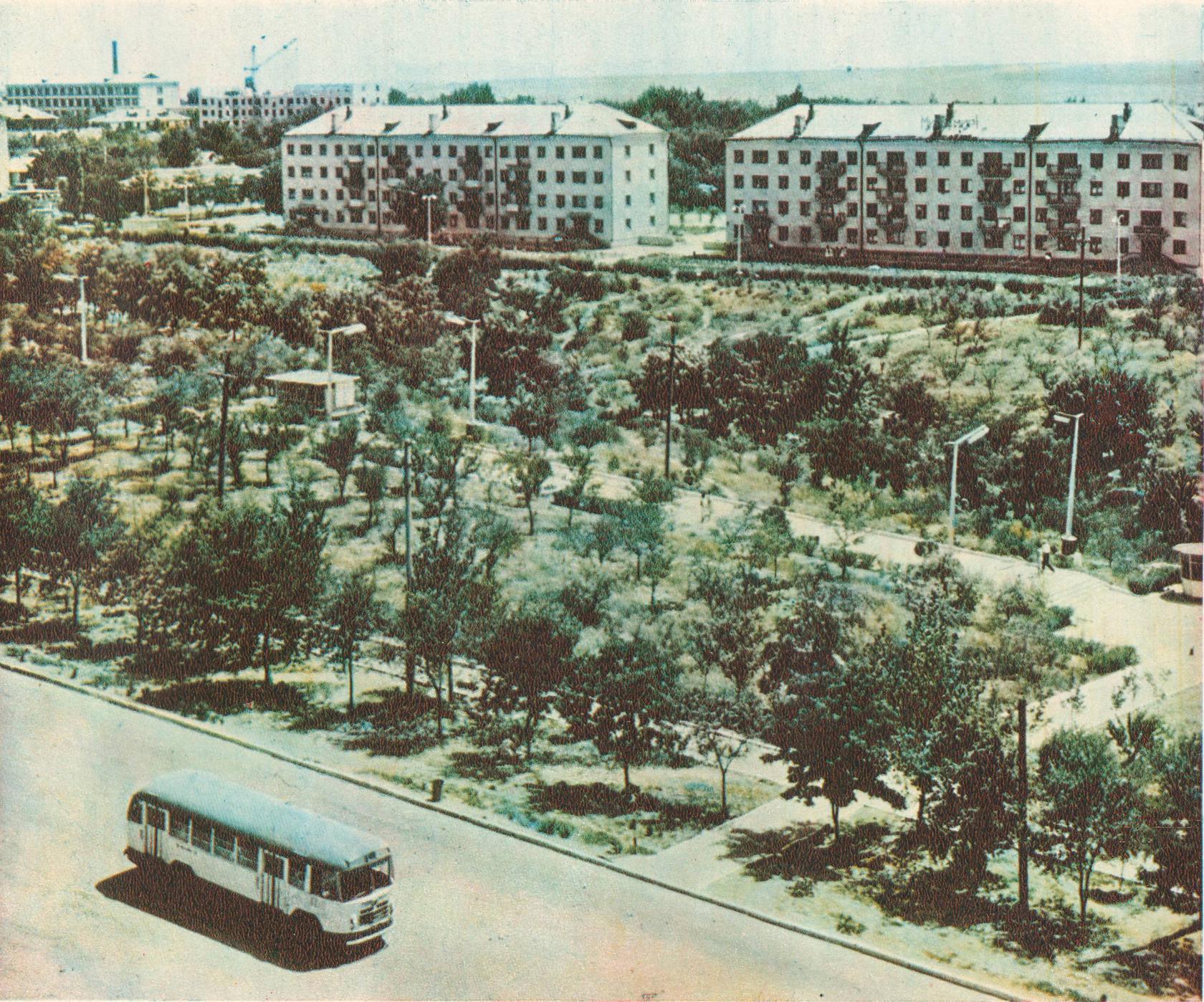 Улицы Ленина и Пионерская. 1970 год