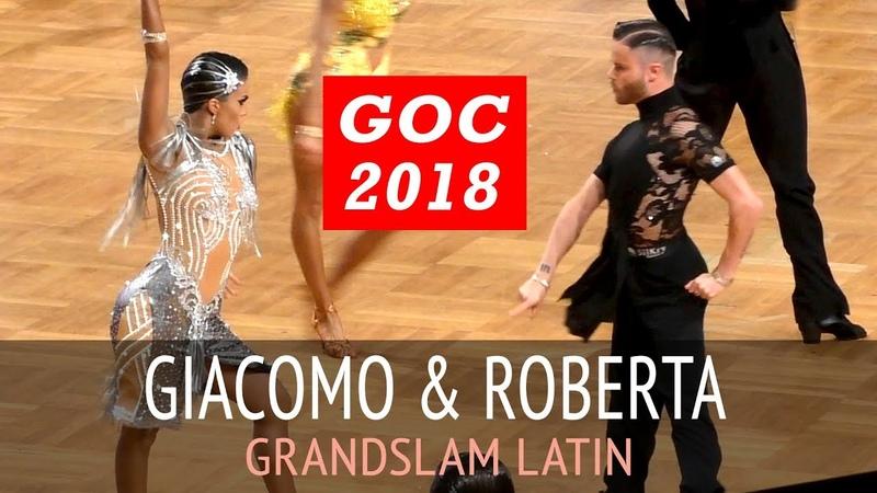 Giacomo Lazzarini Roberta Benedetti Cha cha cha GOC2018 GrandSlam LATIN 3Round