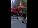 Пожар в 6 мкр. Эвакуировали детей.