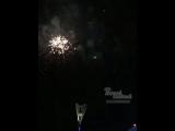 Праздничный салют на Театральной площади 15.7.2018 Ростов-на-Дону Главный