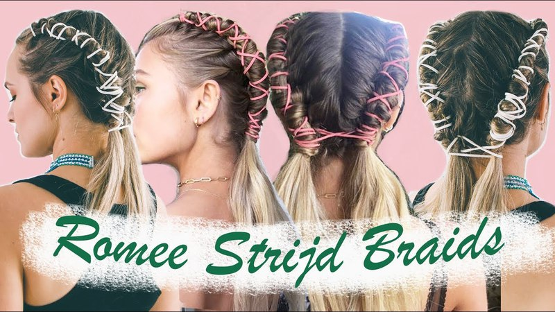 How to do Romee Strijds Coachella Pipe Braids ( an easy version!) - KayleyMelissa