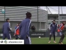 В Сборной Аргентины Фасио и Перотти на тренировочной базе Манчестер Сити Фасио и Перотти