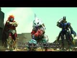 KaijuKeizer Погоня за Мегамонстрами УльтраРубеж Daikaiju Rush Ultra Frontier (2013) ep14 rus sub