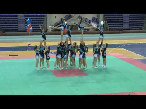 Cheerleading .Чирлидинг - группа-юниоры SunRise.