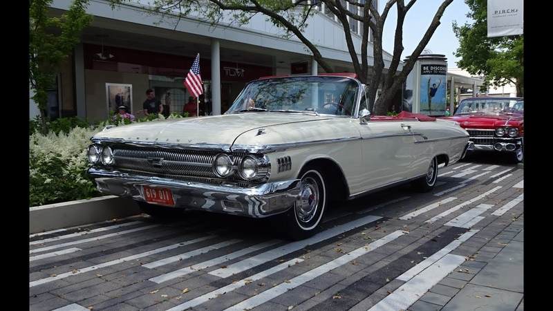 1962 Mercury Monterey S-55 S Fifty Five Convertible Start Up on My Car Story with Lou Costabile