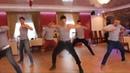 Наш ответ лезгинке Русские парни танцуют на свадьбе!