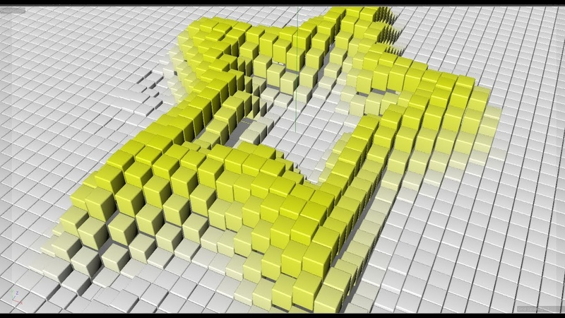 C4D AE Animation using Shader Effector Animation Tutorial