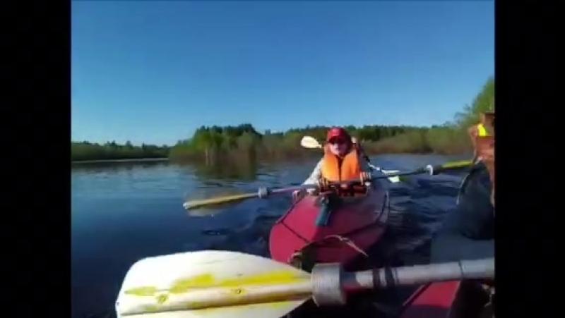 видео участников похода
