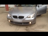 Отключение совместного использование дальнего света и противотуманок. BMW E60