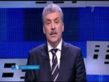 Выборы президента: Павел Грудинин поздравил всех женщин с 8 марта и покинул дебаты.