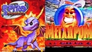 02b - Мегадром Агента Z - Spyro 2 Ripto's Rage! -Обзор (Исходник ,18.12.1999 год) S-VHS_Rip HD