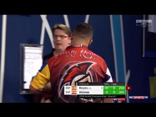 Cristo Reyes vs Toni Alcinas (PDC World Darts Championship 2018 / Round 1)