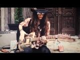 Jack Daniels Whiskey Barrel Guitar _ JUSTIN JOHNSON SOLO SLIDE GUITAR(1)