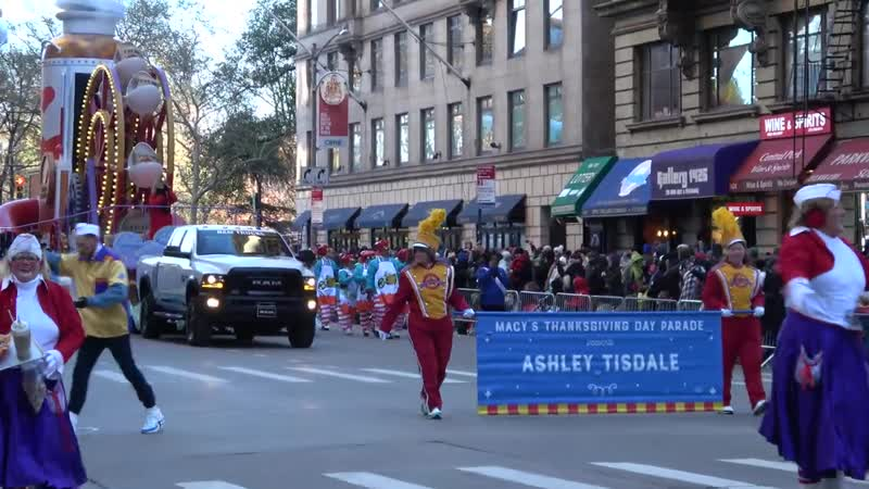 ⁴ᴷ Ashley Tisdale [UNEDITED] - Full Macys Thanksgiving Day Parade 2018