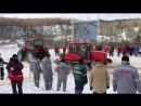 Гусеничный трактор против колесного_ кто кого