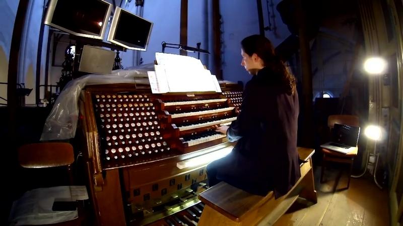662 J. S. Bach - Chorale prelude Allein Gott in der Höh sei Ehr, BWV 662 - Cristiano Rizzotto, organ