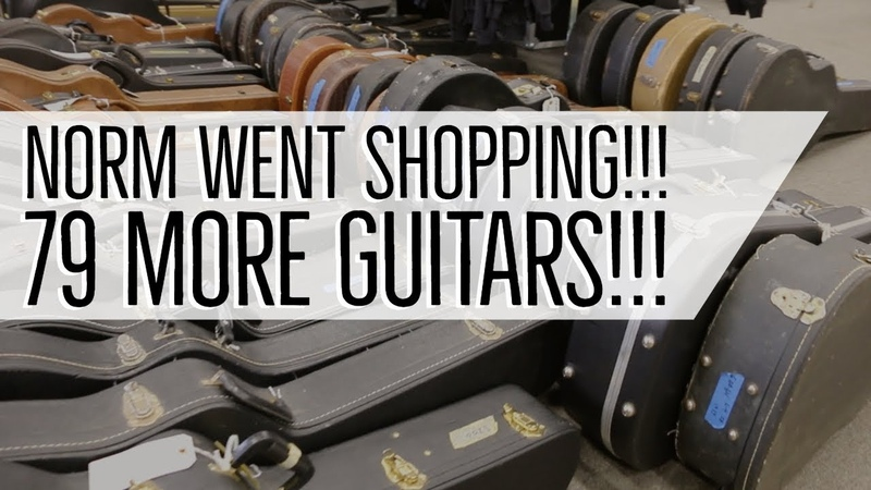 Norm went shopping 79 More Guitars at Norman's Rare Guitars