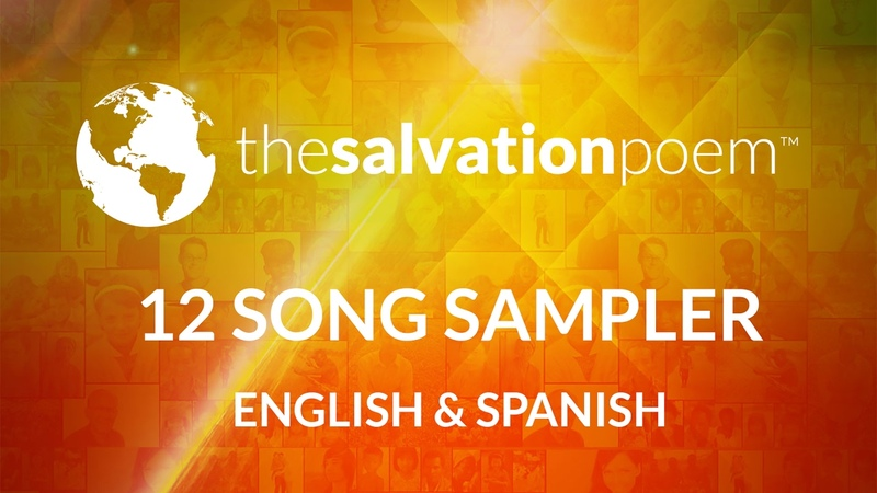 The Salvation Poem 12 Song Sampler in English Spanish