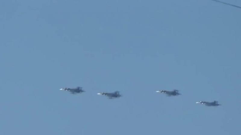 Истребители над Севастополем , подготовка к 9 мая 03.05.2014