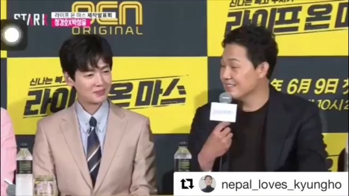 """Jung Kyung Ho ( Nepal Fanpage) on Instagram: """"A video dedicated to the bromance ship of mine from Life On Mars . From the day of Press Conference t..."""