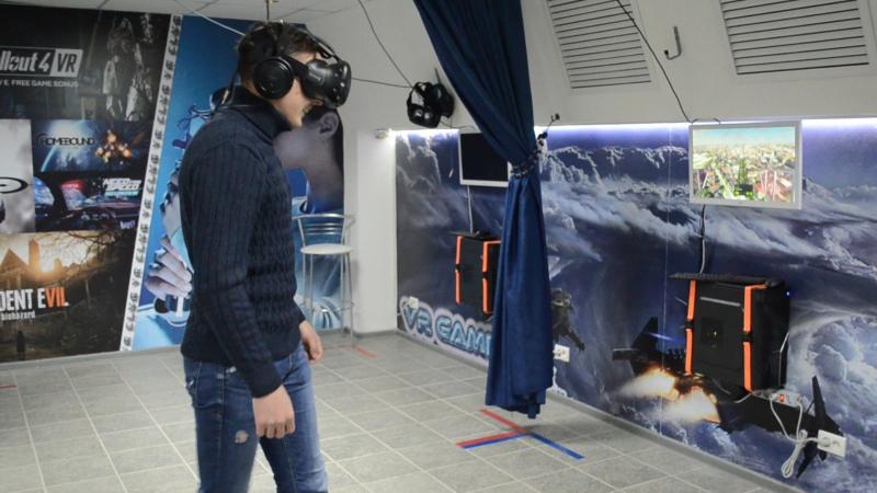 Американские горки в VR