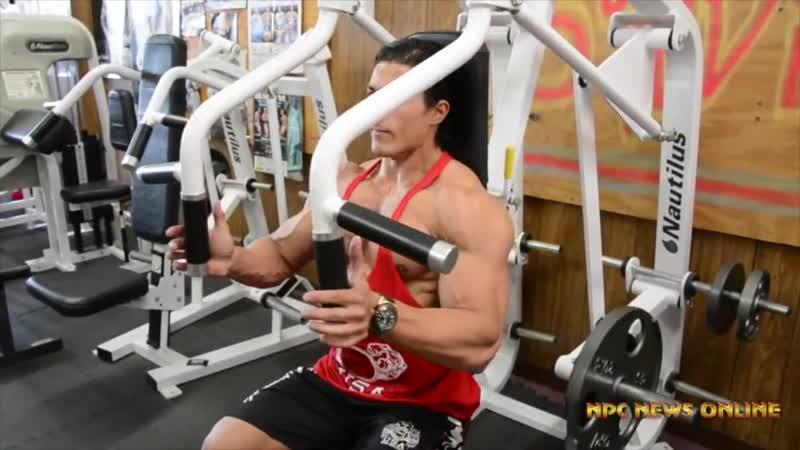 Садик Хадзовик-Sadik Hadzovic - Тренировка груди