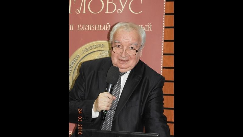 Л.Балашов. Презентация в магазине Библио-Глобус книги Занимательная философия 24.03.18