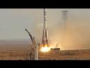 Запуск ракеты Союз ТМА-11М на космодроме Байконур