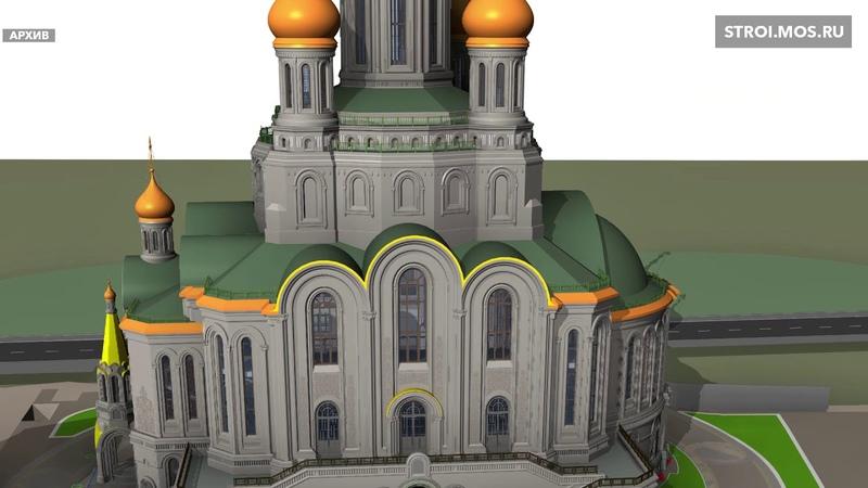Инженерия-«невидимка», BIM и 3D-мэппинг икон в храме Сретенского монастыря