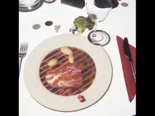 Пока готовят ужин, наслаждайтесь технологией 3D...