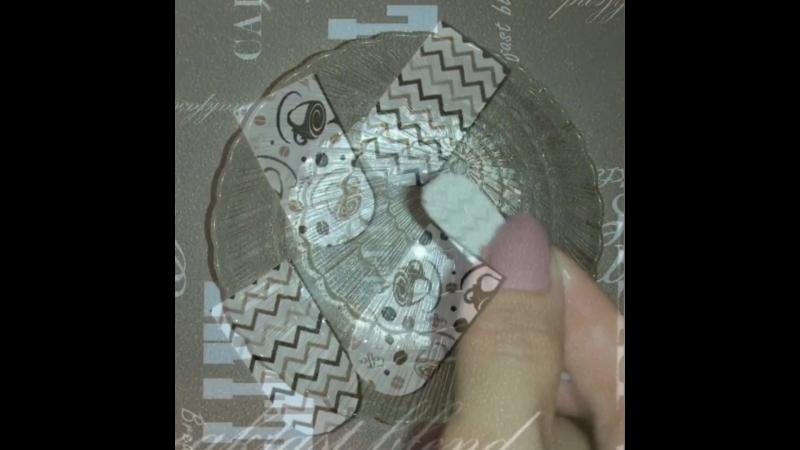 Видеоинструкция по использованию слайдер-дизайна для ногтей