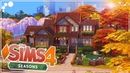 AUTUMNAL FAMILY HOME 🍁🏡 SEASONS The Sims 4 Speed Build