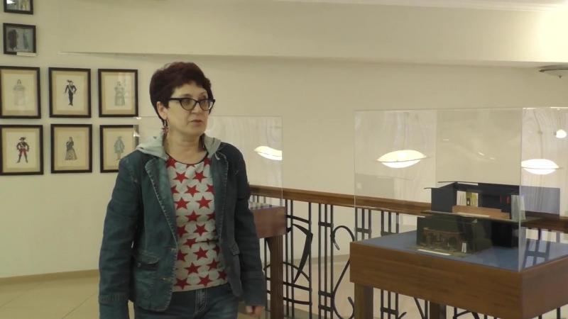 Сюжет студии Облака о работе художника-постановщика с Ольгой Колесниковой