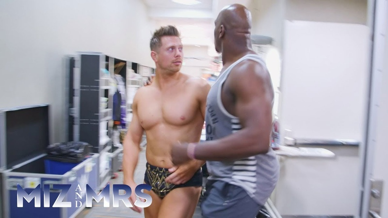 Maryses Braxton Hicks contractions set off panic backstage Miz Mrs. Preview Clip, July 24, 2018