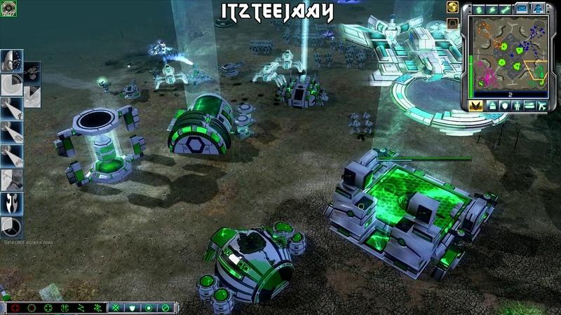 New Faction , (Series) , Crossfire MOD , CC 3 Tiberium Wars , 2v2 Vs Brutal ai , 4K Gaming