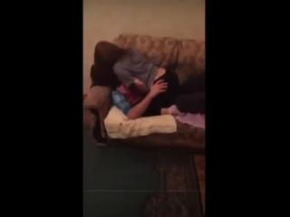 Азербайджанец и русская девушка отдыхают на квартире. Азербайджан Azerbaijan Azerbaycan БАКУ BAKU BAKI Карабах 2018 HD YENI +18