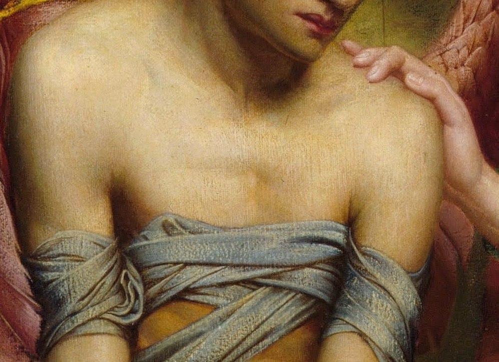 Сидни Харольд Метьярд — Надежда, утешающая Любовь, 1901