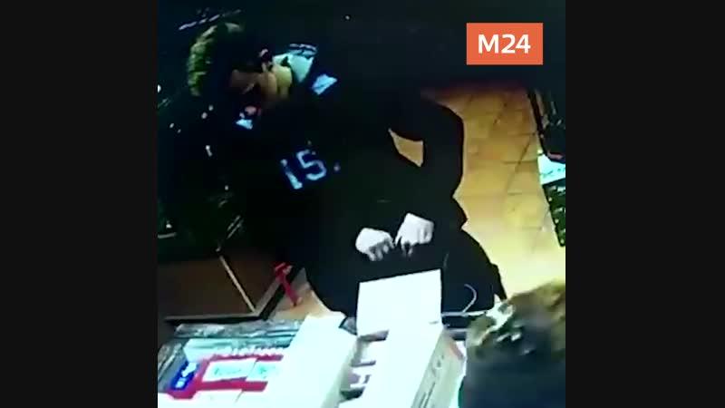 Видео с камер наблюдения, керченский стрелок Владислав Росляков покупает патроны