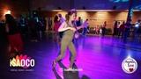 Rafail Galiev and Liliya Abdullina Salsa Dancing in Mambolove, Monday 11.06.2018