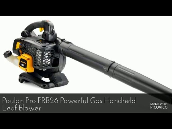 Poulan pro leaf blower review 2018