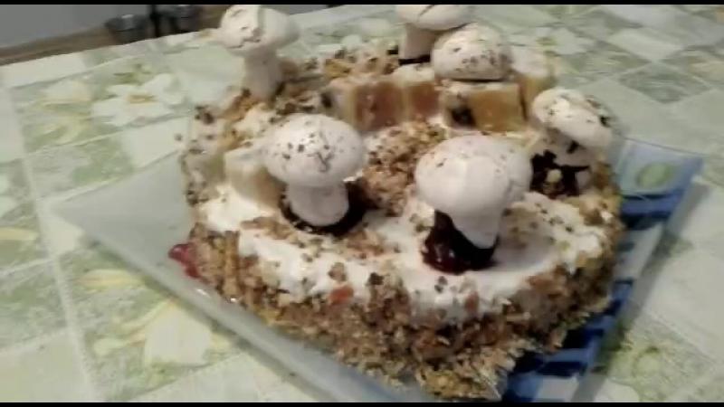 Торт Лесная полянка