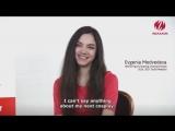 WAKANIM: Evgenia Medvedeva about Anime | Евгения Медведева рассказывает о своей любви к японскому аниме