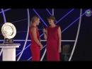 Представление Энжи Кербер и Новака Джоковича на чемпионском балу и вручение Кубков