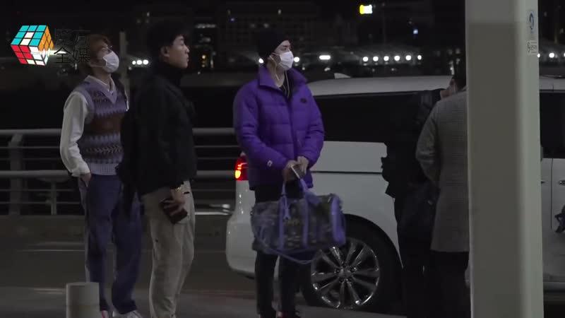2018-10-27 EXO 8人仁川前往馬尼拉 機場時尚惹人贊
