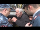 """Ереван водитель автозака"""" отказался везти задержанных революционеров"""